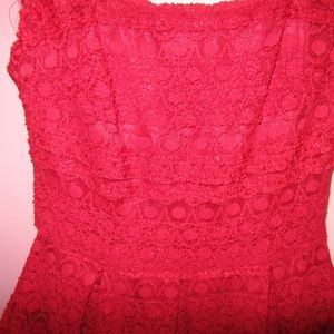 Nordstrom Dresses - NWT Nordstrom Soprano Red Lace Tulle Skater Dress